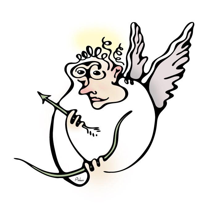 Portrait du Dieu de l'amour et de l'ivresse