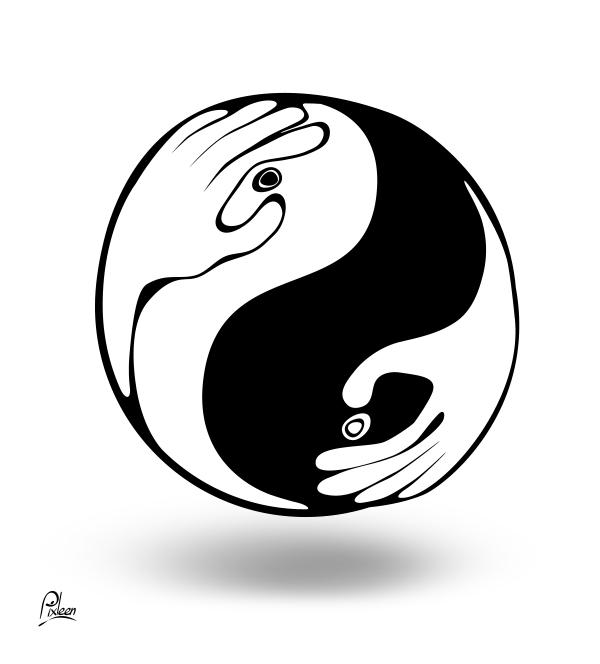 Tai chi yin yang maternel